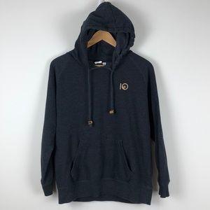 Tentree Dark Grey Hoodie - Size Medium